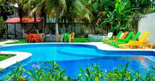 backpacker hostel in Cozumel