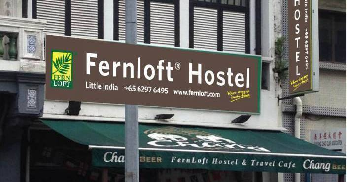 Make cheap reservations at a hostel like Fernloft City