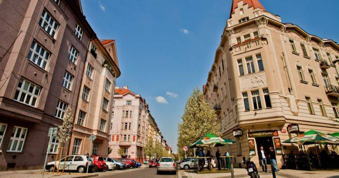 backpacker hostel in Prague